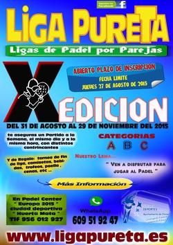 X edici n liga pureta categor a c 2 21 00 martes for Liga municipal marca